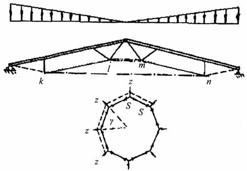 Расчетная схема гибридного