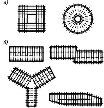 Формы планов многоэтажных