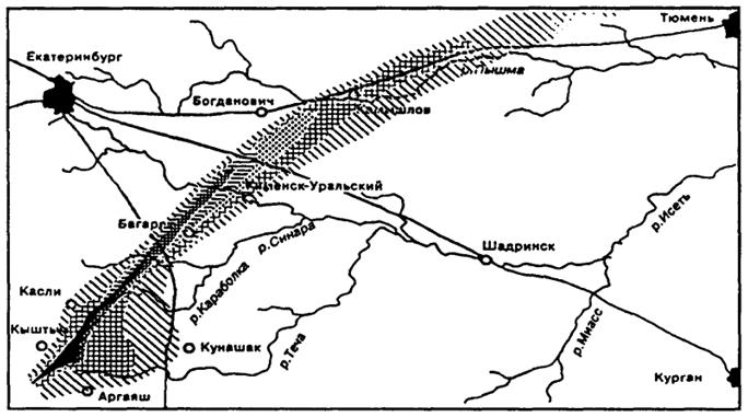 """Карта-схема """"Уральского"""