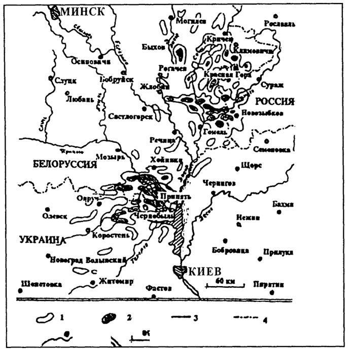 Карта-схема территории с