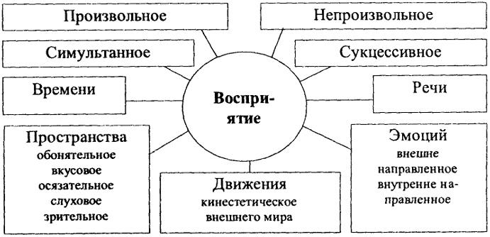 Схема 41. Восприятие